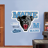 NCAA Maine Black Bears Logo Wall Decal Sticker Wall Decal