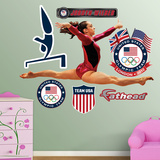 Gymnastics Jordyn Weiber Wall Decal Sticker Wall Decal