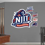 NCAA NJIT Highlanders Logo Wall Decal Sticker Wall Decal