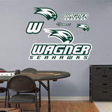 NCAA Wagner College Seahawks Logo Wall Decal Sticker Wall Decal