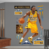Denver Nuggets Kenneth Faried Wall Decal Sticker Wall Decal