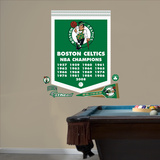 NBA Boston Celtics NBA Championships Banner Wall Decal Sticker Wall Decal