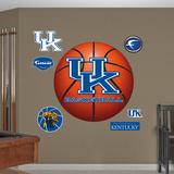 NCAA Kentucky Wildcats Basketball Wall Decal Sticker Wallstickers