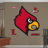NCAA Louisville Logo Wall Decal Sticker Mode (wallstickers)