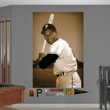 Pittsburgh Pirates Roberto Clemente - Batting Stance Mural Decal Sticker Wall Decal