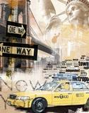 New York Metallic-Druck