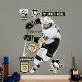 NHL Pittsburgh Penguins NHL James Neal Wall Decal Sticker Wall Decal