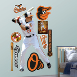 Baltimore Orioles Manny Machado Wall Decal Sticker Wall Decal