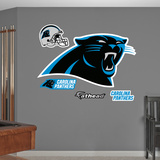 Carolina Panthers 2012 Logo Wall Decal Sticker Wall Decal