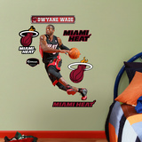 Miami Heat Dwyane Wade Junior Wall Decal Sticker Wall Decal