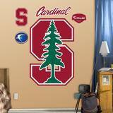 NCAA Stanford Cardinal Logo Wall Decal Sticker Wallstickers