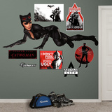 DC Comics Catwoman Arkham City Wall Decal Sticker Wall Decal