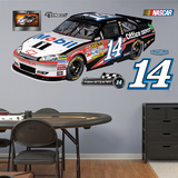 Nascar Tony Stewart 14 Mobil 1 Car 2012 Wall Decal Sticker Wall Decal