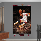 Miami Heat Dwyane Wade 2012 NBA Finals Mural Decal Sticker Wall Decal