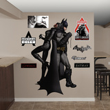 Batman Catwoman Duo Arkham City Wall Decal Sticker Wall Decal