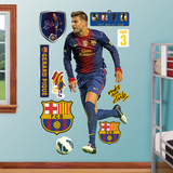 FC Barcelona Gerard Pique Wall Decal Sticker Wall Decal