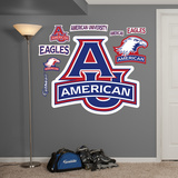 NCAA American U Logo Wall Decal Sticker Wall Decal