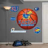 NCAA Kansas Jayhawks Basketball Wall Decal Sticker Muursticker