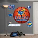 NCAA Kansas Jayhawks Basketball Wall Decal Sticker Wall Decal