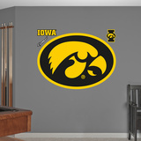 NCAA Iowa Hawkeyes Logo Wall Decal Sticker Mode (wallstickers)