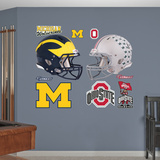 NCAA Michigan-Ohio State Rivalry Pack Wall Decal Sticker Wall Decal