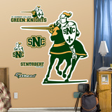 NCAA St. Norbert Green Knights Logo Wall Decal Sticker Wall Decal