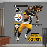 NFL Pittsburgh Steelers Troy Polamalu - 2012 Wall Decal Sticker Wall Decal