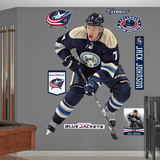 NHL Columbus Blue Jackets Jack Johnson Wall Decal Sticker Wall Decal
