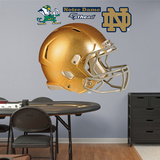 NCAA Notre Dame Fighting Irish Gold Helmet Wall Decal Sticker Wallstickers