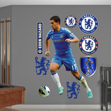 Chelsea FC Eden Hazard Wall Decal Sticker Kalkomania ścienna