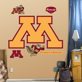 NCAA Minnesota Golden Gophers Logo Wall Decal Sticker Wall Decal