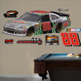 Nascar Dale Earnhardt Jr 2012 Silver Dew Car Wall Decal Sticker Wall Decal