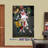 NFL New York Giants Hakeem Nicks Hail Mary Mural Decal Sticker Wall Decal