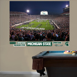 MSU 2012 Stadium Night Mural Decal Sticker Wall Decal