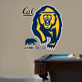 NCAA Cal Golden Bears 2013 Bear Logo Wall Decal Sticker Wall Decal