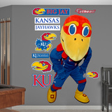 NCAA Jayhawks Mascot Wall Decal Sticker Wallstickers