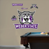 NCAA Weber State 2012 Logo Wall Decal Sticker Wall Decal