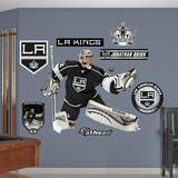 NHL Los Angeles Kings Jonathan Quick Wall Decal Sticker Wallstickers
