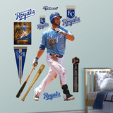 Kansas City Royals MLB Alex Gordon - Swings Away Wall Decal Sticker Wall Decal