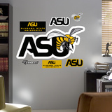 NCAA Alabama State Wall Decal Sticker Wallstickers