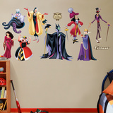 Disney Villains Collection Wall Decal Sticker Wall Decal