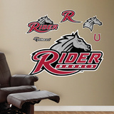 NCAA Rider U Broncs Logo Wall Decal Sticker Wall Decal