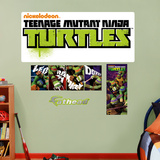 Teenage Mutant Ninja Turtles Logo Wall Decal Sticker Wallstickers