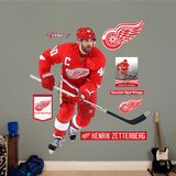 NHL Detroit Red Wings Henrik Zetterberg - Captain Wall Decal Sticker Autocollant