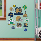 NCAA Notre Dame Jr. Logosheet Wall Decal Sticker Wallstickers
