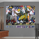 NFL New York Giants Giants Playoff D Mural Decal Sticker Wall Decal