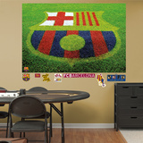 FC Barcelona Grass Mural Decal Sticker Wall Decal
