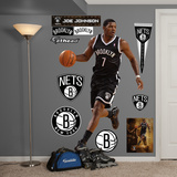 Brooklyn Nets Joe Johnson Wall Decal Sticker Wall Decal