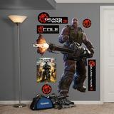 Gears Of War 3 - Cole (sticker murale) Decalcomania da muro