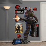 Gears Of War 3 Cole Wall Decal Sticker Wall Decal